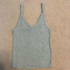 American Eagle Soft & Sexy Plush Ribbed Tank Top